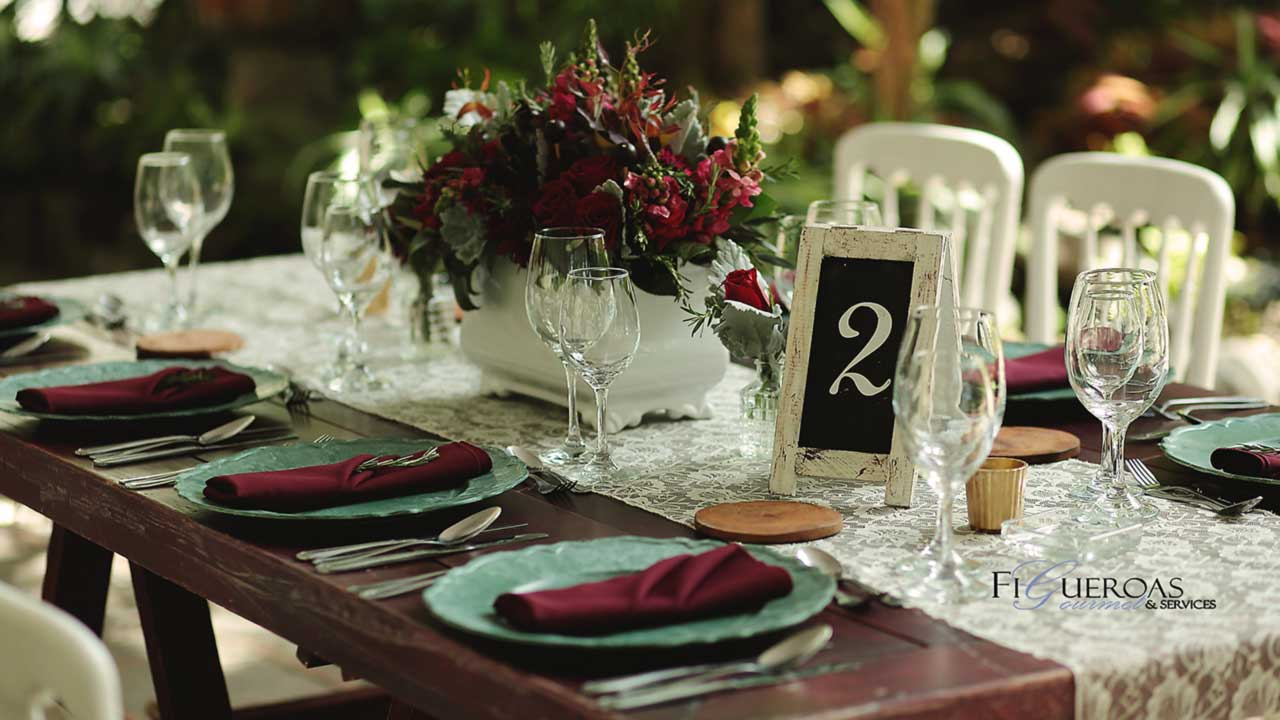 Coordinación de Eventos - Figueroa's Gourmet Services