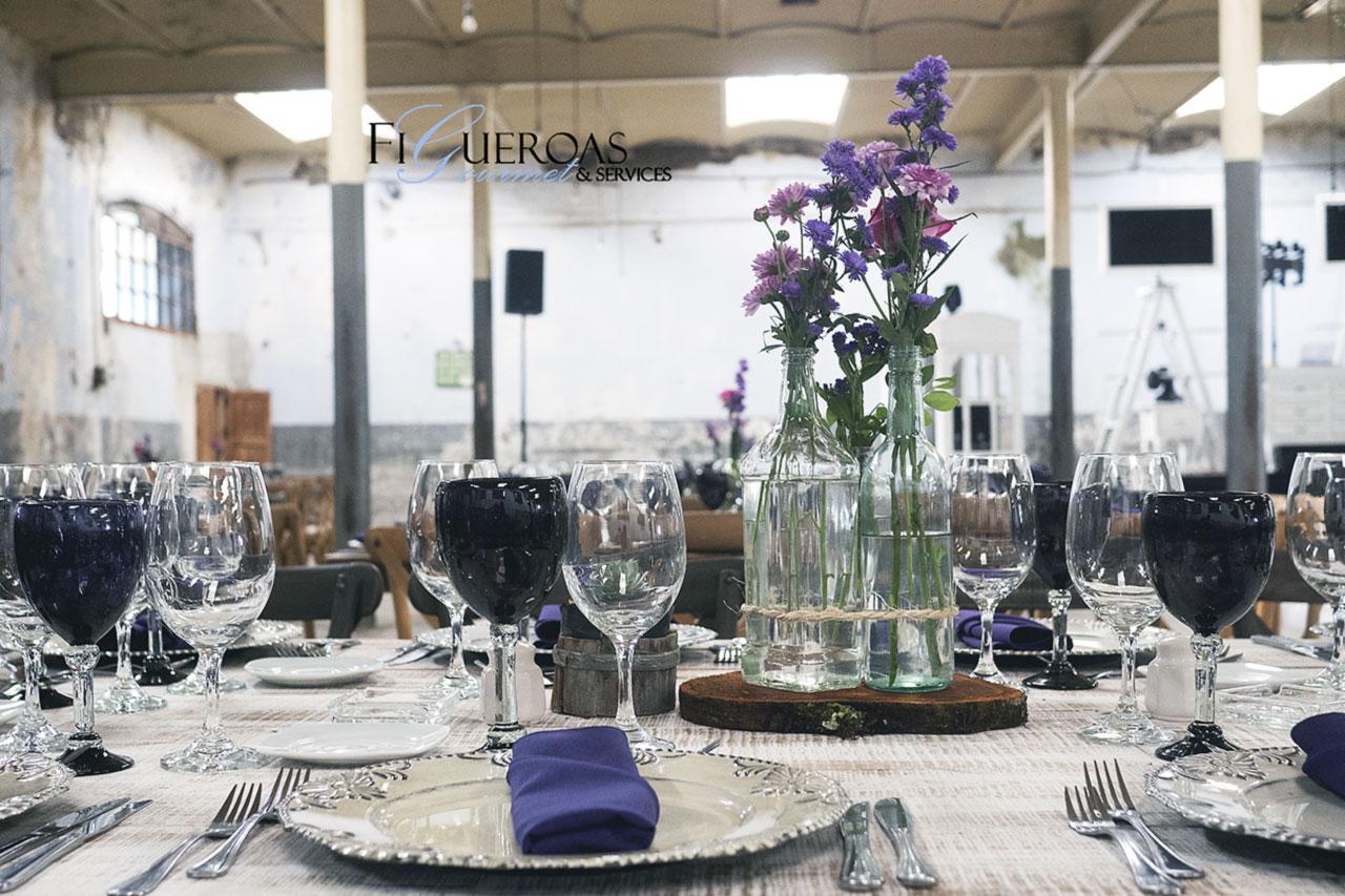 Jardín de Eventos Ex Fabrica La Carolina - Figueroa's Gourmet Services