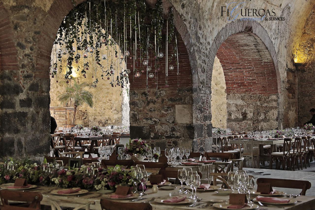 Jardín de Eventos Hacienda Santa Inés - Figueroa's Gourmet Services