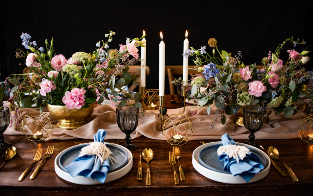 Nuevas tendencias de floristeria y table setting